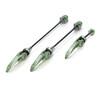 XLC QR-L05 Pro Quick release sæt grøn